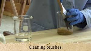 waterlox cleaning your brushes youtube
