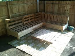 Patio Furniture Out Of Pallets - how to make patio furniture officialkod com