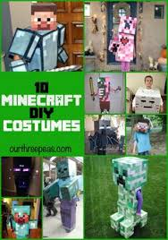 Steve Minecraft Halloween Costume Diy Minecfaft Steve Herobrine Halloween Costume