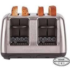 Delonghi Four Slice Toaster Farberware 4 Slice Toaster Stainless Steel Walmart Com