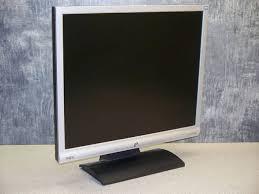 benq g900 48 cm 19 zoll 5 4 lcd monitor silber ebay