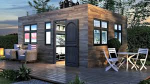 tiny home modern modular luxury small house design ideas youtube