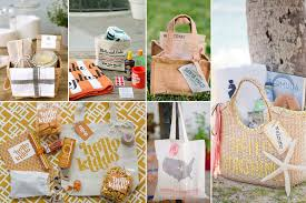 wedding gift bag ideas wedding welcome bags for guests