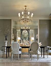 No Chandelier In Dining Room 25 Black And White Dining Room Designs Grey Wall Mirrors