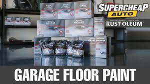 Diy Garage Floor Paint Painting Your Garage Floor Rust Oleum Garage Floor Coating