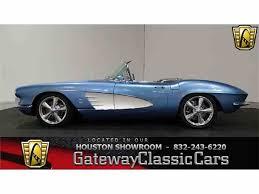 repossessed corvettes for sale 1961 chevrolet corvette for sale on classiccars com 45 available