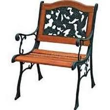 cast iron chair ebay