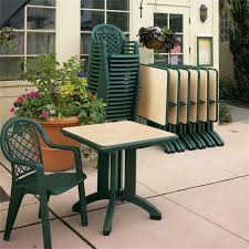 Commercial Outdoor Tables Grosfillex Furniture Commercial Outdoor Grosfillex Plastic Resin