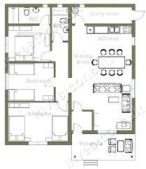 3 bedroom floor plans with garage home plans 3 bedroom inspirational gallery of 3 bedroom house