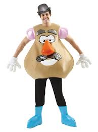 poodle skirt halloween costume mrs or mr potato head fancy dress disney toy story character