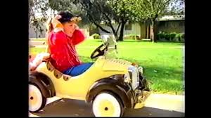 barbie jeep 1990s power wheels 80s commercial youtube