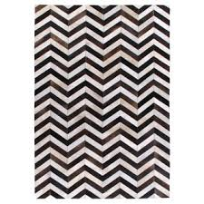 chevron hide rug exquisite rugs chevron hide grey white leather hair on hide rug