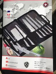 secondhand catering equipment chefs knives aus meisterhand