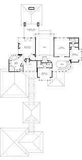 Floor Plans With Porte Cochere Modern Style House Plan 4 Beds 4 50 Baths 4750 Sq Ft Plan 132 221
