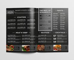 food menu bundle by egotype graphicriver