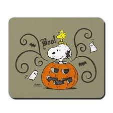 peanuts snoopy sketch pumpkin mousepad by snoopystore