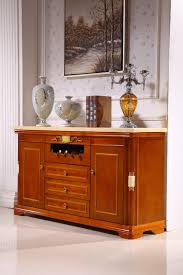 long side table with drawers wooden console table side cabinet storage drawer marble top made in
