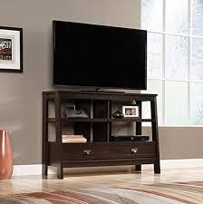 Furniture Tv Unit Amazon Com Sauder 416955 Console Tv Stand Select Jamocha Wood