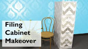 contact paper file cabinet filing cabinet makeover youtube