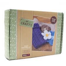 knitting kits hobbycraft