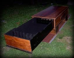 Gun Cabinet Coffee Table by Barn Wood Coffee Table Hidden Gun Cabinet Lodging Lodging