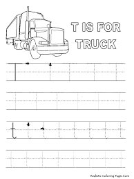letter t worksheets and coloring pages for preschoolers alphabet