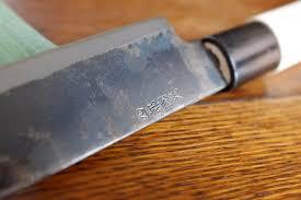 comment aiguiser un couteau de cuisine affutage couteau japonais tout savoir pour bien aiguiser couteau