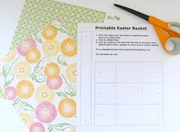 printable easter basket creative ramblings