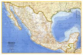 Mexico Maps 1973 Mexico Map Historical Maps
