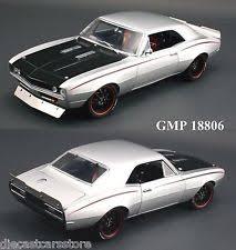 1967 camaro diecast 1967 chevrolet fighter camaro 1 18 gmp diecast car 18806 ebay