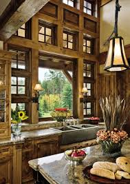 rustic kitchen design appliances double height rustic kitchen design with wooden