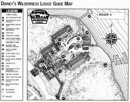 Villas At Wilderness Lodge Floor Plan by Disney Echo