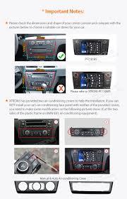 xtrons pf7181bs car radio cd dvd stereo gps sat nav for bmw 1