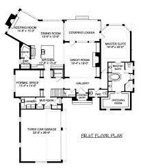 House Plans With Keeping Rooms European Home Plan 4 Bedrms 4 5 Baths 6280 Sq Ft 127 1006