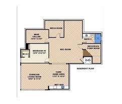 modern style house plan 5 beds 5 50 baths 7766 sq ft plan 27 533