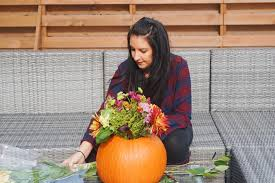 arranging pinterest perfect but totally simple fall centerpieces