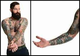 vets reveal the stories in their tattoos in new exhibit u0027war ink