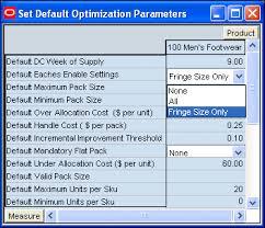prepack optimization