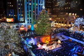christmas christmas tree rockefeller center decoration the top
