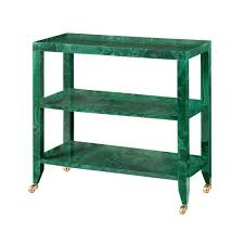 Green Console Table Bungalow 5 Isadora Console Table Malachite Green Chic Office Decor