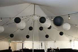 Chinese Lanterns String Lights by Tent Lighting Aaa Rental System