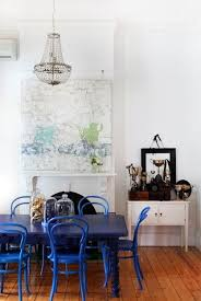 blue dining room table endearing dining table navy blue painted round room at cozynest home