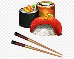 clipart cuisine sushi japanese cuisine tamagoyaki onigiri clip sushi set png