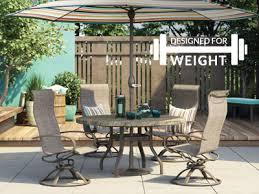 patio table plug 2 1 4 homecrest outdoor living
