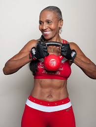 56 year old ebony women world s fittest grandma body builder just celebrated her 80th