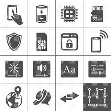 tablet pc and smart phone icons vector clipart image 24836