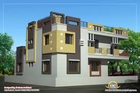duplex house plan and elevation 2878 sq ft kerala home duplex house elevation view 2 2878 sq ft 267 sq m