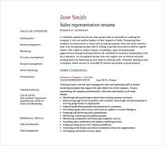 Inside Sales Resume Sample by Sale Representative Resume Examples