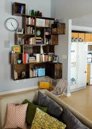 Book Shelf Suvidha Innovation Corner Spacesaver Bookcase Curved Shelves Add Interest Maybe In