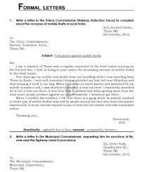 formal letter format cbse class 11 professional resumes sample